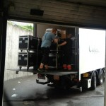 Picture by greykarn - Loading trucks