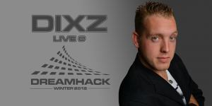 DJ Dixz @ DreamHack Winter 2012